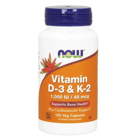 Vitamin D-3 & K-2 120kap