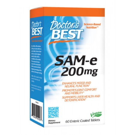 DOCTOR'S BEST SAM-e 200mg 60tab