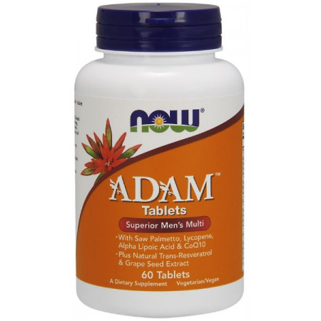 NOW FOODS Adam 60tab