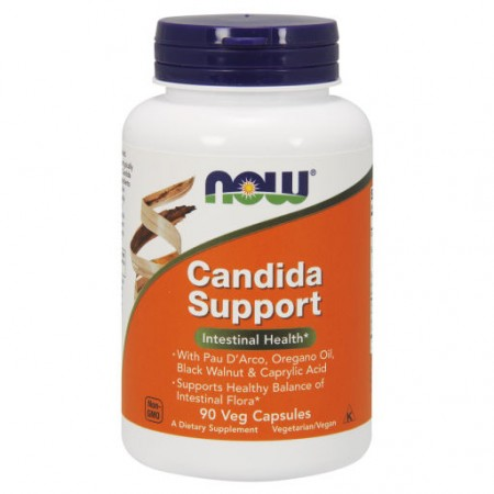 NOW FOODS Candida Support 90kap