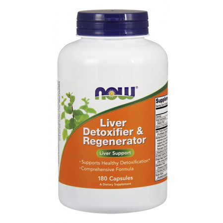 NOW FOODS Liver Detoxifier & Regenerator 180kap