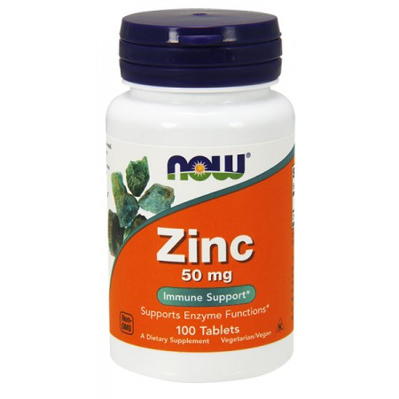 NOW FOODS Zinc 50mg 100tab