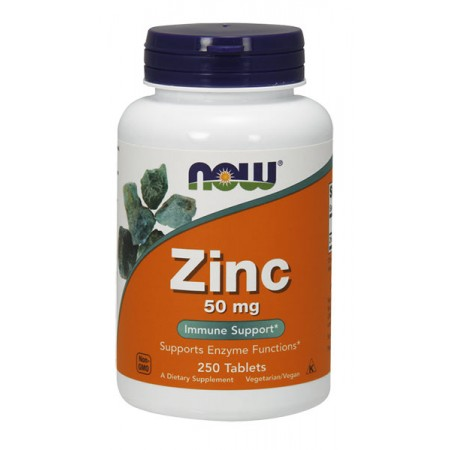 NOW FOODS Zinc 50mg 250tab