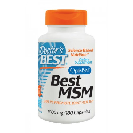DOCTOR'S BEST Best MSM 1000mg 180kap