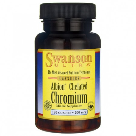 SWANSON Albion Chelated Chromium 180kap