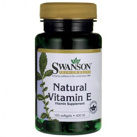 Natural Vitamin E 100kap