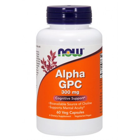 NOW FOODS Alpha GPC 60kap