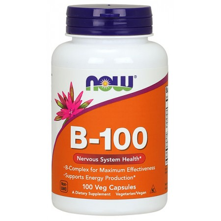 NOW FOODS B-100 100kap