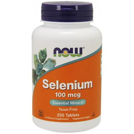 NOW FOODS Selenium 250tab Selen