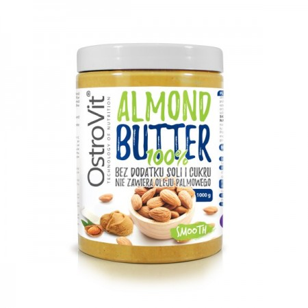 OSTROVIT Almond Butter 100% 1000g Smooth
