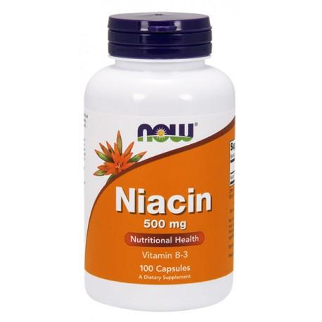 Niacin Niacyna 500mg 100kap