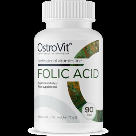 Folic Acid 90tab Kwas Foliowy