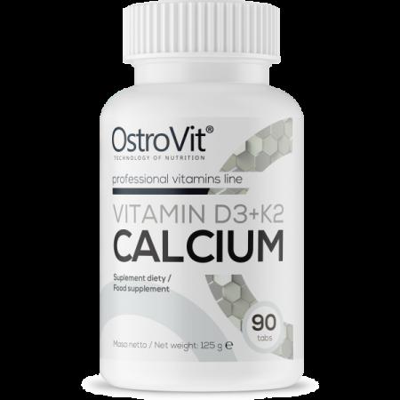 OSTROVIT Vitamin D3 + K2 Calcium 90tab