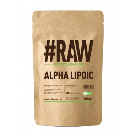 RAW Alpha Lipoic 100mg 120kap wege