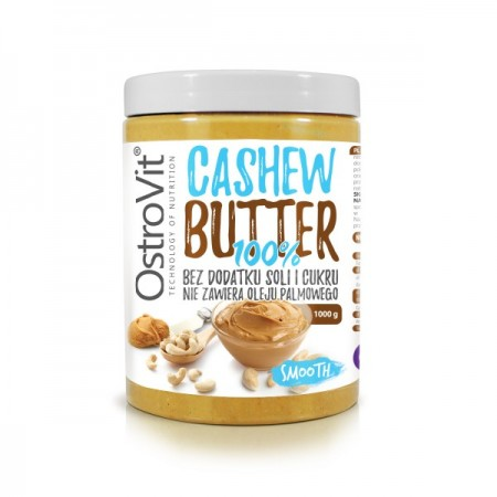 OSTROVIT Cashew butter 100% 1000g Smooth