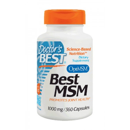 DOCTOR'S BEST Best MSM 1000mg 360kap