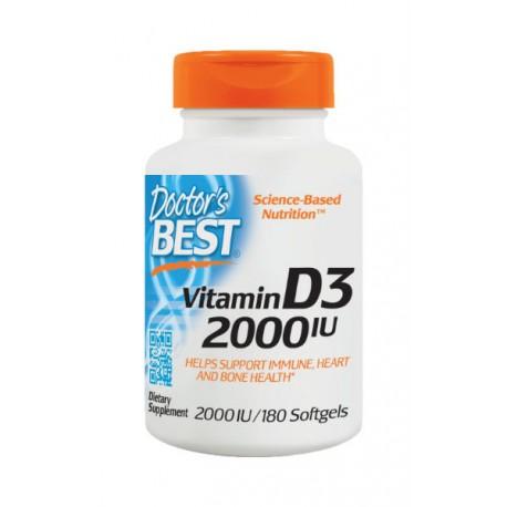 Vitamin D3 2000iu 180 kapsułek