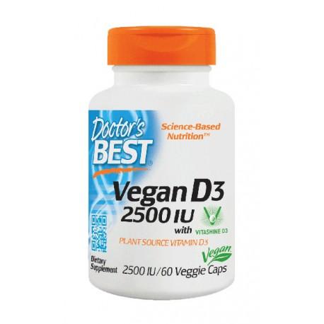 Vegan D3 2500iu 60 kapsułek