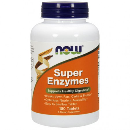 NOW FOODS Super Enzymes 180tab