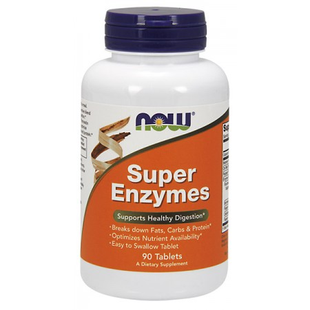 Super Enzymes 90 tabletek