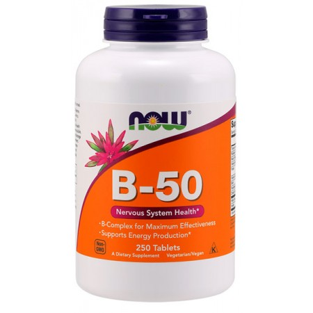 NOW FOODS B-50 250tab