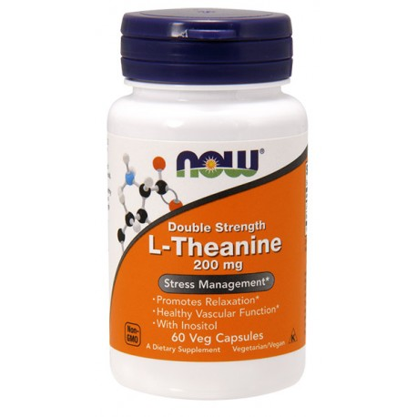 L-Theanine 200mg 60kap Teanina