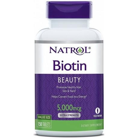Biotin 5mg 150tab Biotyna