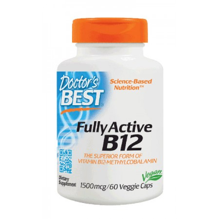DOCTOR'S BEST Fully Active B12 60wege kap