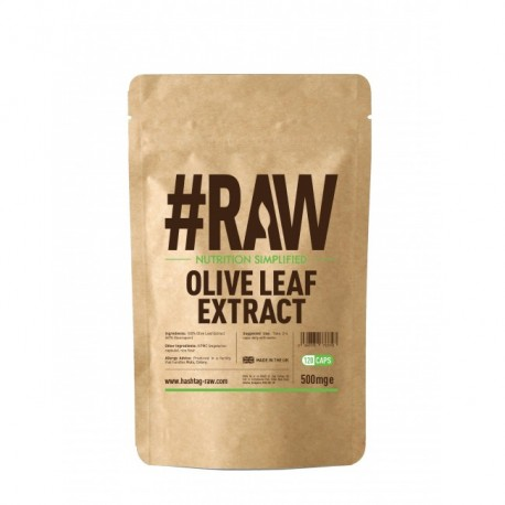 RAW Olive Leaf Extract 120kap wege