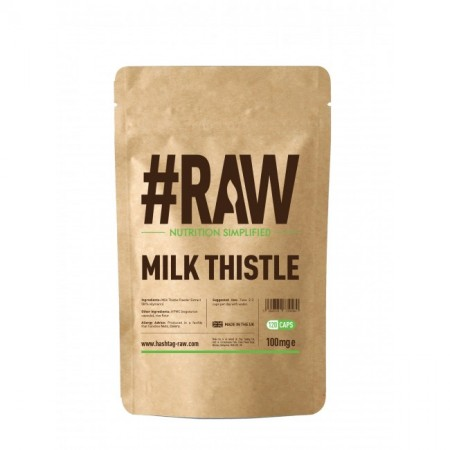 RAW Milk Thistle 120kap wege