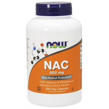 NOW FOODS NAC (N-Acetyl L-Cysteina) 250kap wege