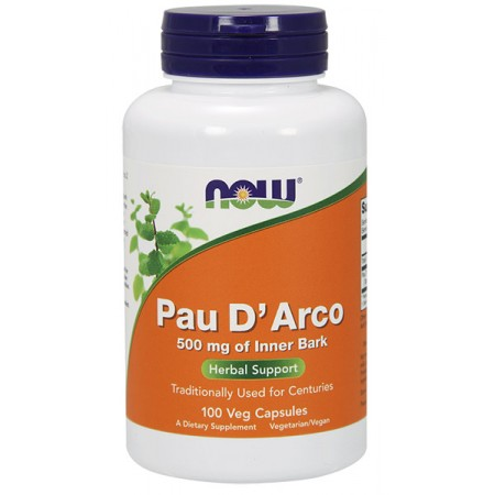 NOW FOODS Pau D'Arco 100kap wege