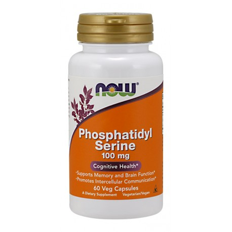 NOW FOODS Phosphatidyl serine 100mg 60kap