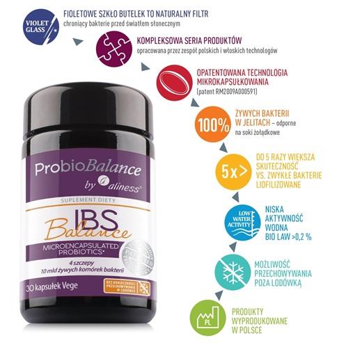 probiotyk ibs aliness